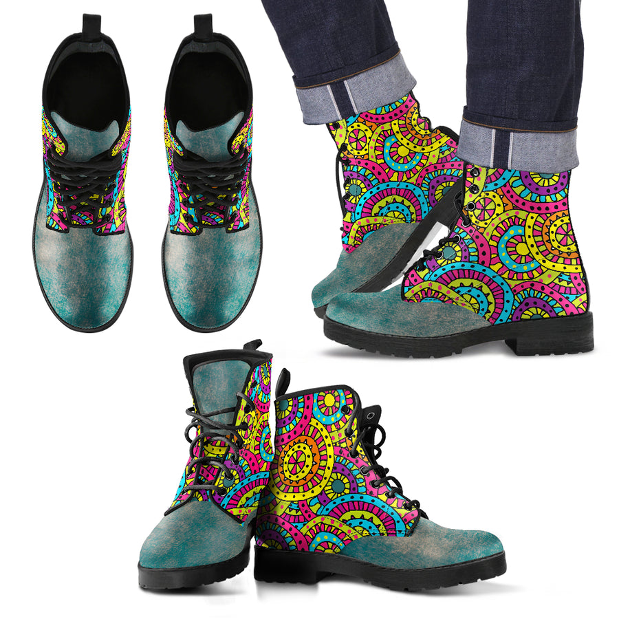 more inspiration - more perfection with this pure art designed boots.