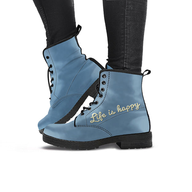 LIFE IS HAPPY WOMEN'S BOOTS
