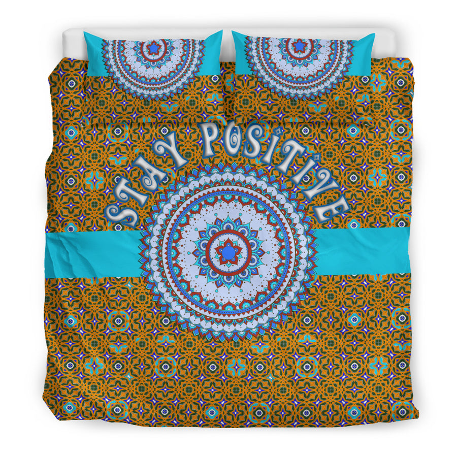STAY  POSITIVE BEDDING SET