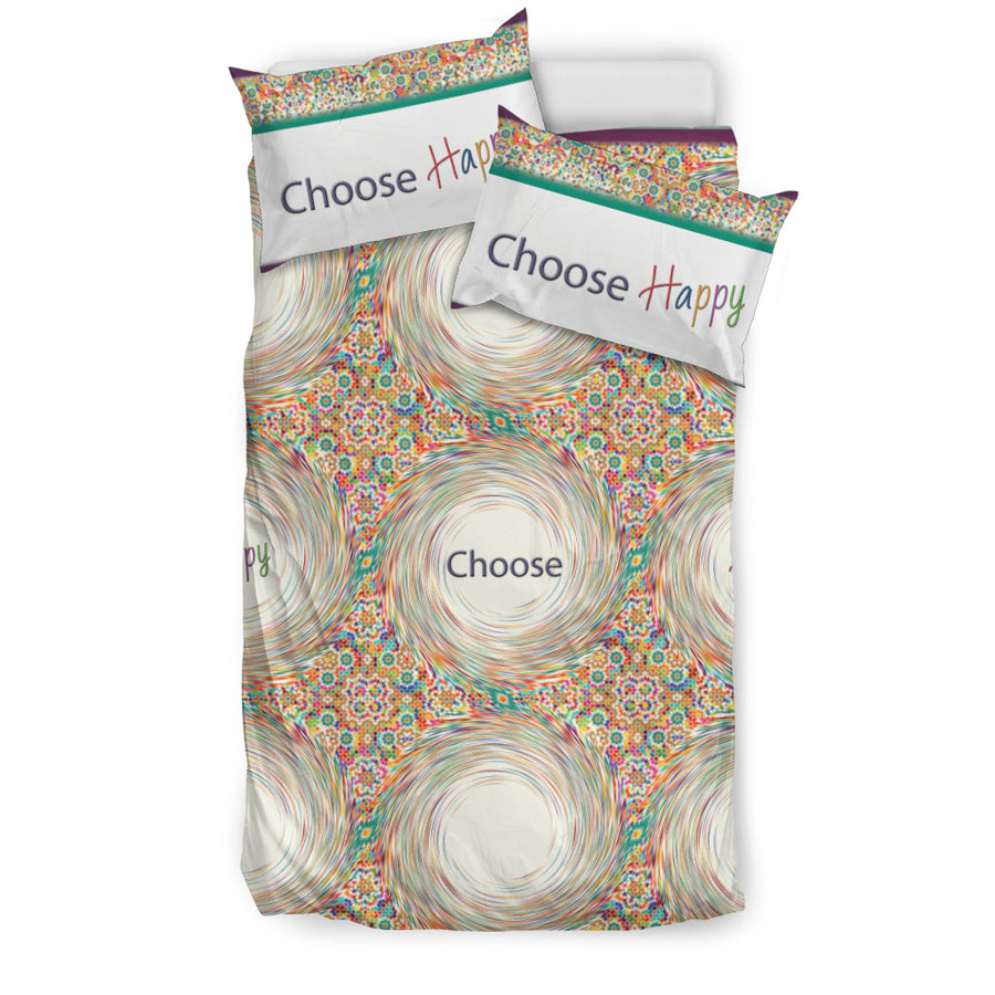 CHOOSE HAPPY BEDDING SET
