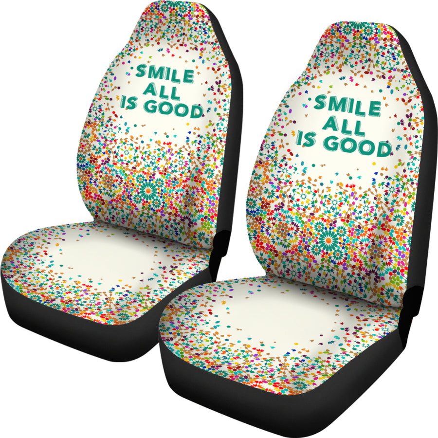POSITIVE THINKING CAR SEAT COVER