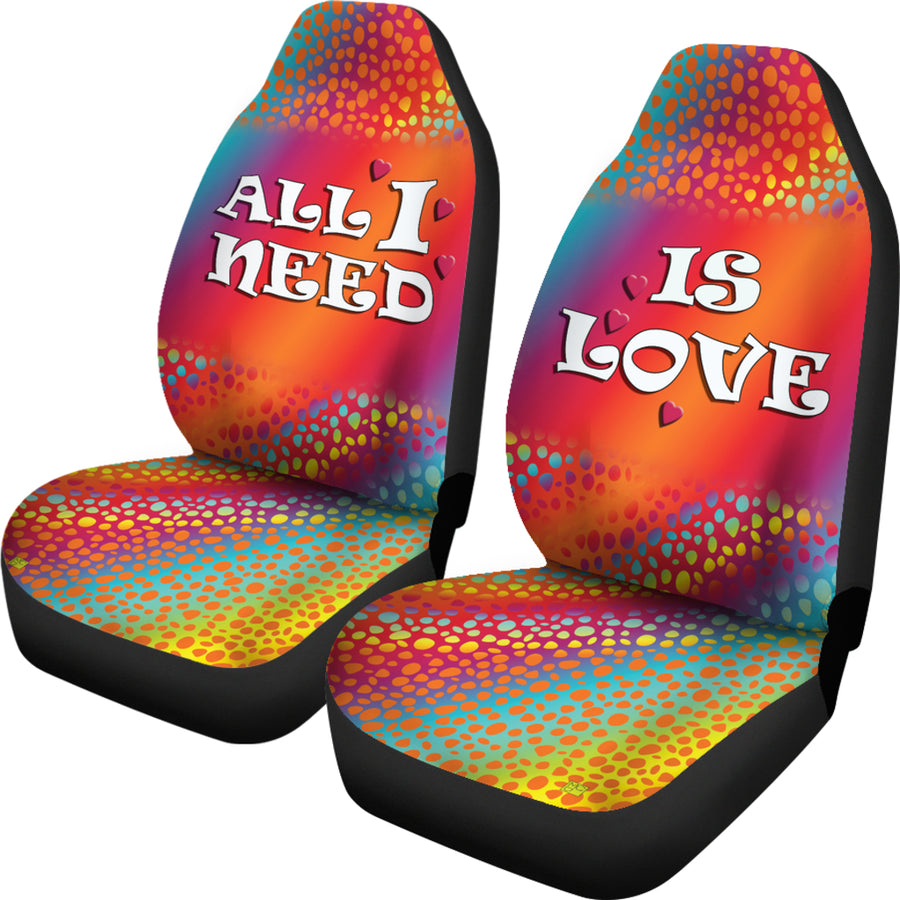 LOVE RIVER CAR SEAT COVER