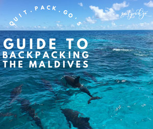 Quit Pack Go's Backpackers Guide to the Maldives (ebook)