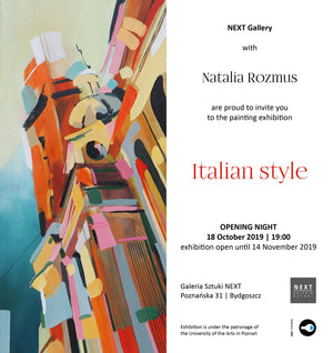 Exhibition - Italian Style with Natalia Rozmus