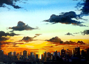 """City Sunset"""