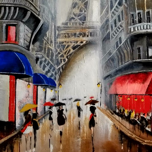 """Rainy Day in Paris"""