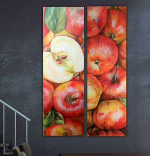 """Apples - Diptych"""
