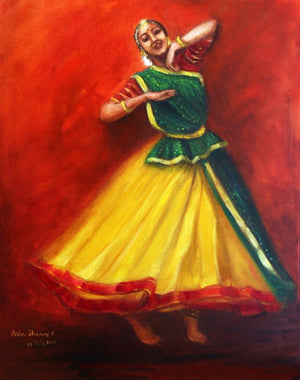 """Indian Dancer - Radha Dancing"""