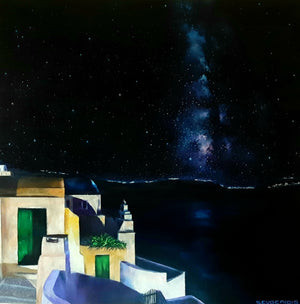 """From Santorini to Milky Way 2"""