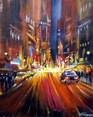 """Night City Street II"""