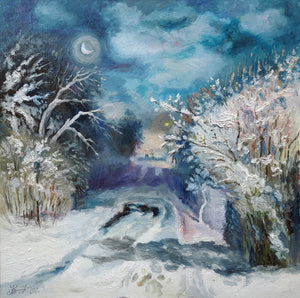 """Winter Night"""