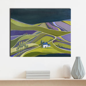 """House on the Lavender Field"""