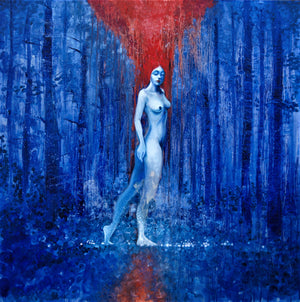 """Nymph of the Blue Forest"""