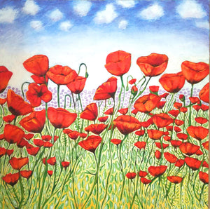 """Afternoon Poppies"""