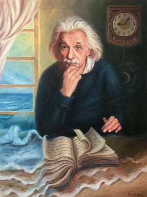 """Portrait of Albert Einstein"""