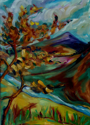 """Autumn Trees, Sugarloaf"""