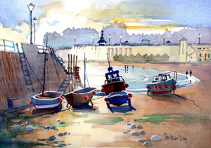 """September Boats, Broadstairs"""