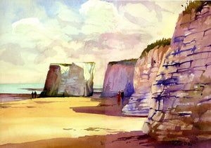 """September Sunshine, Botany Bay, Broadstairs, Kent"""