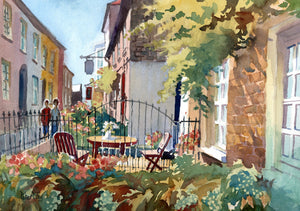 """Breakfast at Serene Place, Broadstairs, Kent"""