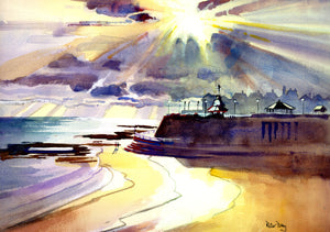 """Broadstairs. And finally the Sun"""