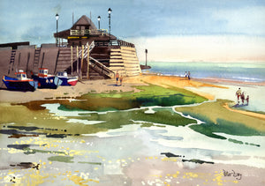 """Incoming Tide - Broadstairs, Kent"""