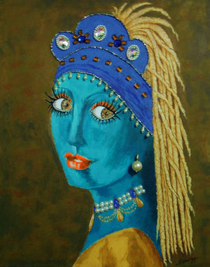 """Belly Dancer With a Pearl Earring"""
