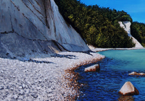 """Chalk CLiffs of Ruegen Island"""