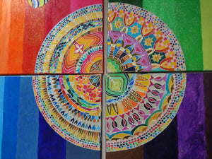 """Four Seasons: Wheel of Life"""