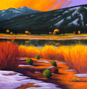 """Fall Mountain Lake"""
