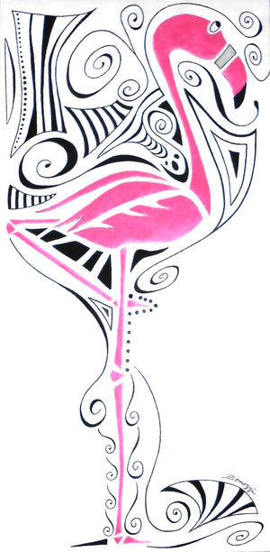 """Fanciful Flamingo"""