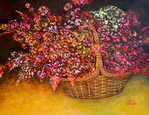 """Flowers in the Basket"""
