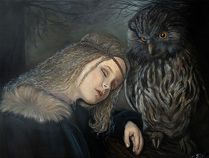 """Girl and The Owl"""
