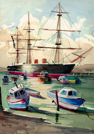 """HMS Warrior, Portsmouth"""