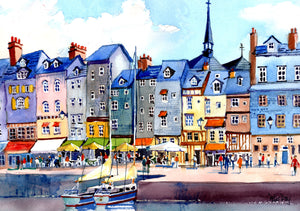 """Harbourside Honfleur"""