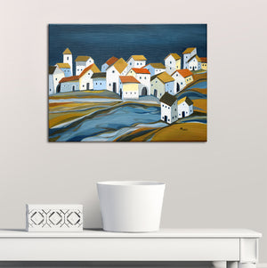 """Houses Along the Stream"""