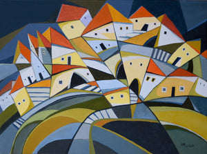 """Houses on the Hillside"""