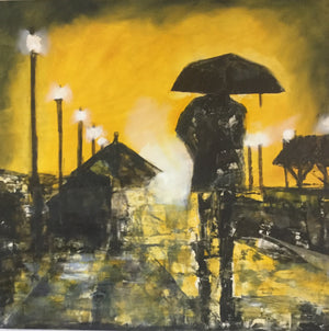 """Rainy Night in San Carlos"""