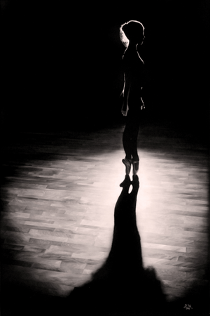 """Dancer Silhouette #2"""