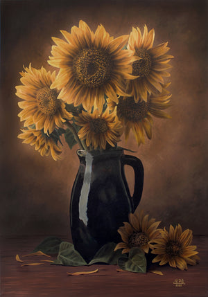 """Still Life - Sunflowers"""