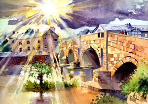 """After the Rain', Kendal Bridge, Cumbria"""