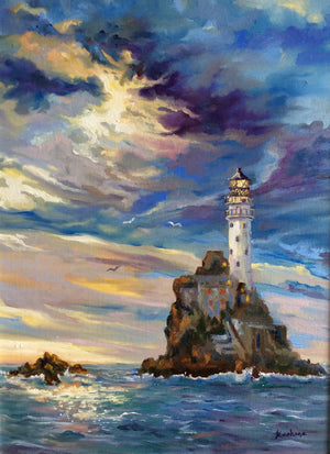 """The Fastnet Rock and Lighthouse"""