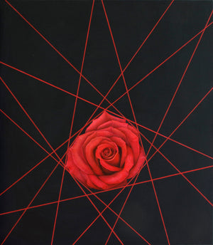 """Lines and a Rose"""