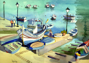 Peter Day - Malta Watercolours