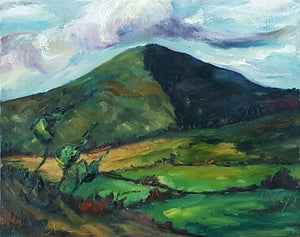 """Morning Clouds over Annagh Hill"""