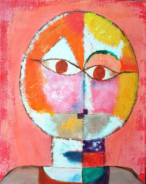 """Paul Klee's Old Man"""