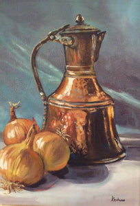 """Copper, Brass and Onions"" - SOLD"