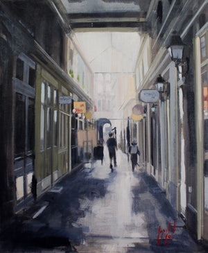 """Paris Passage Dauphine"""
