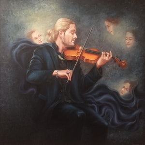 """Portrait of David Garrett"""