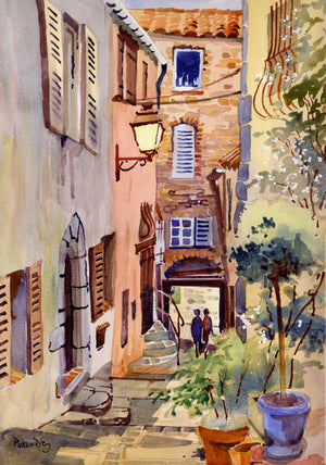 """Provence, Grimaud"""