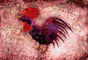 """Purple Rooster"""